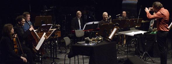 Konzert am 23.01.2014 Theater Hebbel am Ufer 2 / Berlin