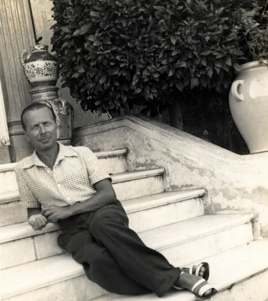 Giacinto Scelsi in una fotografia degli anni Trenta