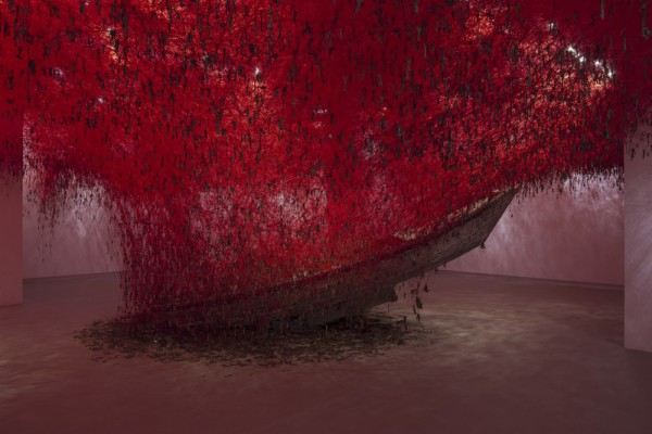 Chiharu Shiota, The Key in the Hand. Foto: Sara Sagui.