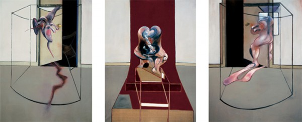 Triptych inspired by the Oresteia of Aeschylus – Francis Bacon (1981)